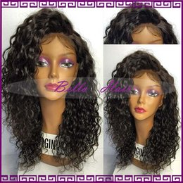 Freeship New Loose Curly Lace Wig Bleached Knots Full Lace Human Hair Wigs For Black Women Peruvian Hair Lace Front Wigs For Women