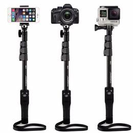 Yunteng 1288 Wireless Bluetooth Extendable Handheld Portrait Self Timer Monopod Aluminum Alloy Selfie Stick For Gopro Sport camera
