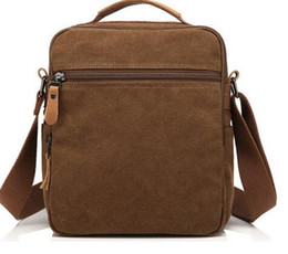 The new and old men canvas bag bag bag bag of 2016 time travel business brand men's bags Crossbody