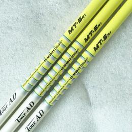 Wholesale New mens TOUR AD MT Golf Wood shaft high quality Graphite Golf shafts R or S flex Golf driver shaft