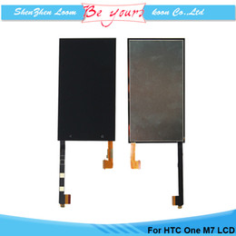 Wholesale LCD For HTC One M7 Display With Touch Screen Digitizer Assembly w d t Replacement AAA Grade DHL