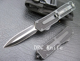 Wholesale High quality MICROTECH SCARAB knife double action c blade air Aluminum Alloy steel handle camping knife EDC tools