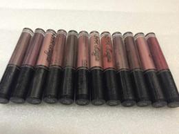 Factory Direct DHL Free Shipping New Makeup Lips NYX Lip Lingerie Matte Lip Gloss Liquid Matte Lipstick