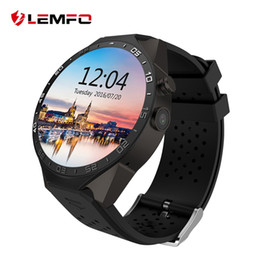 Wholesale LEMFO KW88 Smart Watch Phone Android Bluetooth Wifi Support Google Play GPS Map inch Screen Smartwatch Clock