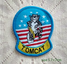 Military Patch U.S. NAVY F-14 TOMCAT FIGHTER Sew On Patch Shirt Trousers Vest Coat Skirt Bag Kids Gift Baby Decoration