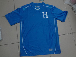 Wholesale Clearance Prices Wrold Cup Honduras Home Away Soccer Jersey White Blue Soccer Jerseys Fottball Jerseys Jersey