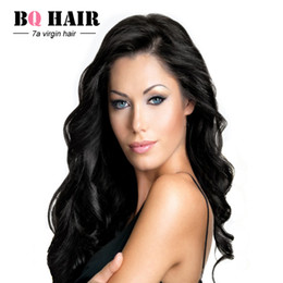 "Wholesale Silk Top Closure Free Shipping - BQ Hair Grade 7A Mink Brazilian Human Hair Silk Base Closure 4""*4"" Body Wave Top Closure More Lifelike Silk Hair Closure Free Shipping"