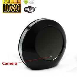 Wholesale P2P HD P Alarm Clock WiFi Camera Clock Digital Video Recorder Cam For Home Security and Baby Monitoring