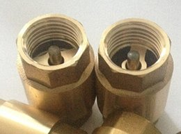 Wholesale DN15 Copper core Gavertical lift check valves way brassvalve with BS P thread with price