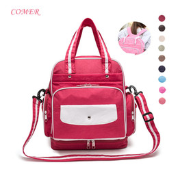 Fashion Big Capacity Waterproof Diaper Bag Multifunction Mummy Maternity Nappy Bags Travel Bag Backpack 10 Colors