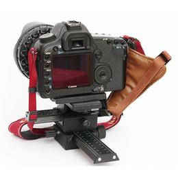 2017 dslr deslizador Marca de fábrica superior Koolertron 2 vías FOTOMATE enfoque macro Rail deslizante cabeza de trípode para Canon Nikon Sony Pentax DSLR DV dslr deslizador en venta