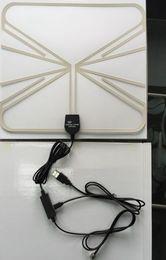 Wholesale indoor antenna active antenna built in antenna amplifier power antenna DVB T2 DVB T ATSC receive dvb t dvb t2 atsc t signal
