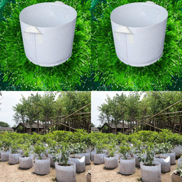 Wholesale Planting Bags Round Fabric Pots Plant Pouch Root Container Grow Bag Aeration Pot Container New Peat Pots Breathable Bag Plant HY1174
