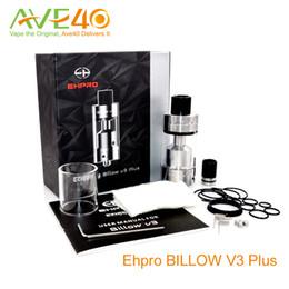Billow rta en Ligne-EHPRO Billow v3 Plus 5.4ml Réservoir RTA 25mm Top Airflow 100% Original pour Minikin