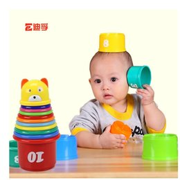 Wholesale This toy folding cup dephone infants months years old Cup baby shower set