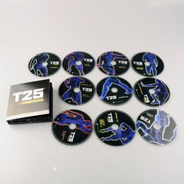 Wholesale T25 DVD Workout Set Shaun T s Crazy Body Exercise Fitness Video Workout DVDs DHL