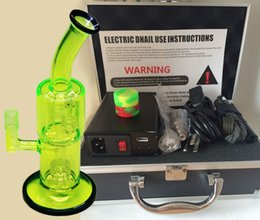 Wholesale E Nail D Nail kits with Bong Electric Titanium Nail Dab with Titanium Nail Heater Coil Best Price E nails with USB