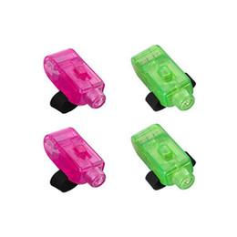 Promotion laser conduit doigts Bague 8X Bright LED Laser Light Beams Party Torch