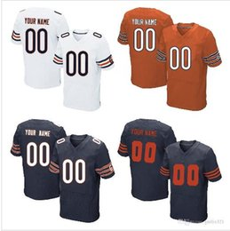 Wholesale 2016 Men s Bears Custom Elite Football Jerseys Personlized Any Name Number Good Quality Stitched Chicago Jerseys Price Dro Ship