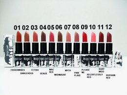 Wholesale HOT Makeup NEW X BROOKE CANDY MATTE Lipstick colors g high quality DHL GIFT