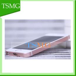Wholesale 4 pouces i5 métallique SE Dual Core MTK6572 GooPhone iSE appel téléphonique avec Mo Go Go peut montrer GB Sealed boîte couleurs de vente chaude