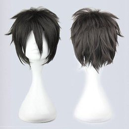 Free Shipping Heat Resistant >>Anime Seraph of the End Owari no Seraph Cosplay black Yuuichirou Hyakuya Wig