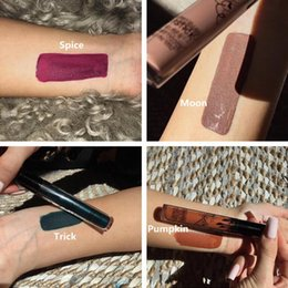 Wholesale 28 Style Kylie Lip Kit by Kylie Jenner MATTE Liquid Lipstick Dirty Peach Love Bite LEO Brown Sugar EXPOSED SMLIE SPICE PUMPKIN TRICK MOON