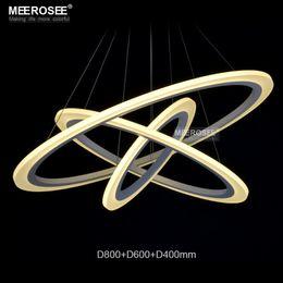 Modern Acryl Ring LED Circle Chandelier Lamp   Pendant Light   Light Fitting SMD 3014 Fashion Designer LED Pendant Lamp