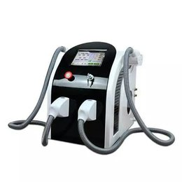 Wholesale High quality new technology Double handle IPL opt SHR hair removal skin rejuvenation vascular removal machine