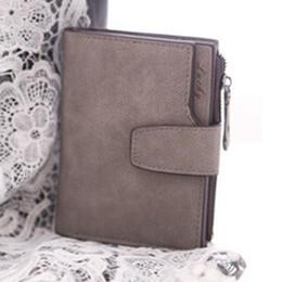2016 Busienss Women Mini Grind Magic Bifold Leather Wallet Card Holder Women Wallet Purse Coin Purse Handbag carteras mujer
