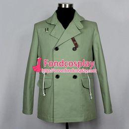Wholesale Sherlock Holmes Dr watson John Watson Jacket Coat Bbc Tv Cosplay Costume Custom made