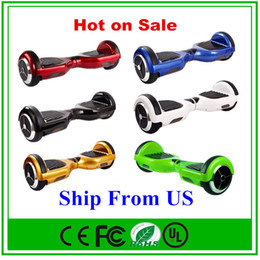 Wholesale US Stock Inch Hoverboard Electric Scooter Wheels Smart Balance Wheel Drifting Board Self Balancing Skateboard Fast Shipping