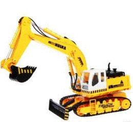 Wholesale Music with light remote control excavator toys wireless charge engineering car excavator remote control car toy for children