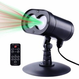 Wholesale New Red And Green Alien Wireless Control Laser Christmas Lights Outdoor Star Projector IP65 Waterproof for Seasonal Decorative