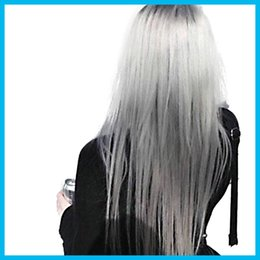 Wholesale 2016 ML Hair Color Cream Light Grey Color Permanent Super Hair Dye Non toxic Personalized Color for DIY Hair Style Cream Light New