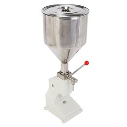 Wholesale Manual machine remplissage Filling ML Newest Design BSC A03 Series ml Manual Liquid Filling Machine For Cream Shampoo And Cosmetic