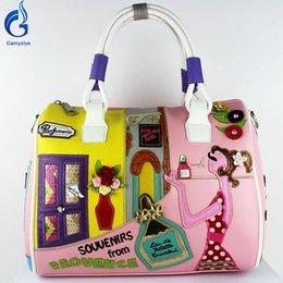 Wholesale new prouence style Women handbags Bag Perfume Lovely girl Handbag sac a main borse di marca bolsa feminina tote braccialini