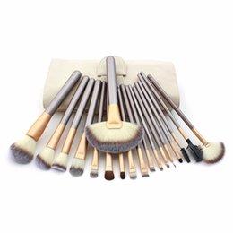12 18 pcs Makeup Brush Set Synthetic Brushing Brush Professional Cosmetics Makeup Foundation Powder Blush Eyeliner Brushes