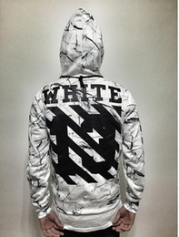 Wholesale 2016 off white hoodie women graphic hoodies Hip Hop Men Hoodies Clothes Skateboard Walking Hoodie couples clothings