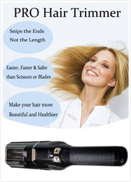 Wholesale 2016 NEW Cutieclub Electric Cordless Split Trimmer Hair Trimmer Professional Hair Ends Ender Clipper Shavers beauty instrument