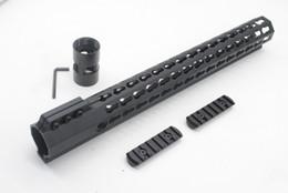 Tactical Ultralight 15 inch Key mod Picatinny Rail for AR15 M4 M16 Free Float Handguard Free Shipping