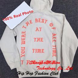 Wholesale Unisex You were the best of all time Los Angeles Kanye west I feel like Pablo Hoodie Sweatshirt