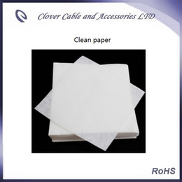 Good quality Free Shipping 90pcs Optical Fiber Accessory Anti-static dust-free wiping paper dust-free paper cleaning paper