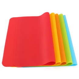 Wholesale 2016 High Quality Silicone Mats Baking Liner Best Silicone Oven Mat Heat Insulation Pad Bakeware Kid Table Mat x30cm