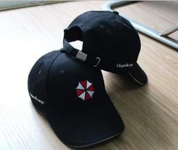 Wholesale Resident Evil Biohazard Umbrella Corporation Logo Cap USS STARS BSAA Hat Adjustable Snapback Baseball Cap Military Cosplay Hat