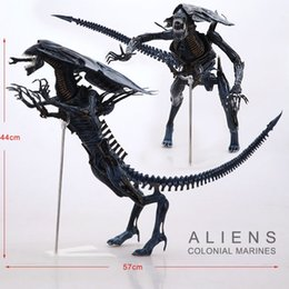 Wholesale NECA Big quot Aliens Alien Queen Deluxe Boxed PVC Action Figure Limited Edition Collection Model Toy Gift
