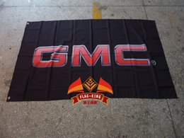 Wholesale GMC Business trip car flag Global Manufacturer Certificate banner CM racing car flagking polyster