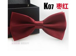 Wholesale Tie for men and women suits business the groom s best man han edition British tie knot wedding metal drill