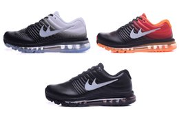 Wholesale Autumn And Winter Air Running Maxes Shoes Mens Leather Trainers Sports Sneakers Man women shoes Size