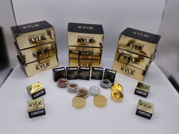 Wholesale Kylie Jenner Cosmetics Birthday Edition Creme Eye Shadow Cream Rose Gold Copper Black High Light Brown Colors Metal Colours High Quality
